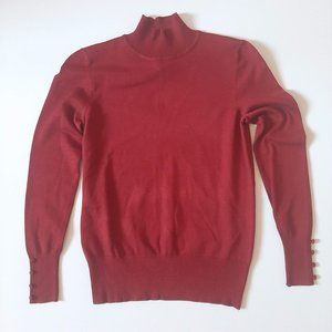 NWT Spense Turtleneck Burntoak S